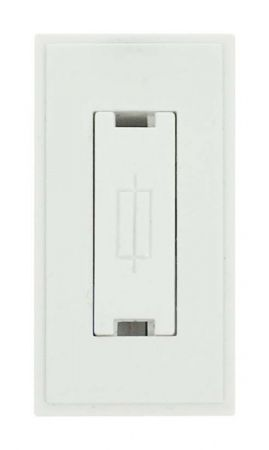 Click New Media 13A FCU Fused Spur Connection Module White MM047WH