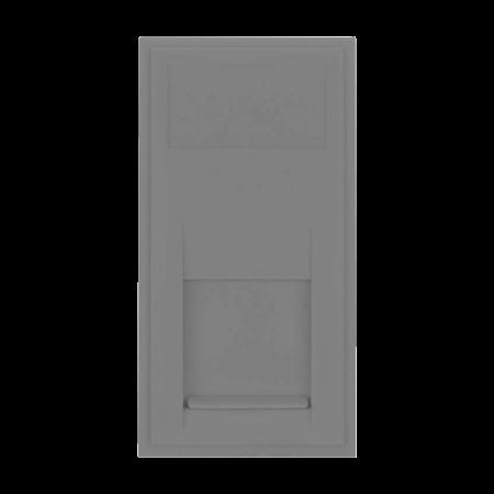 Click New Media RJ45 CAT5E Data Module Grey | MM480GY