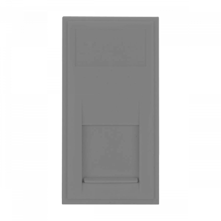 Click New Media RJ45 CAT6 Data Module Grey | MM485GY