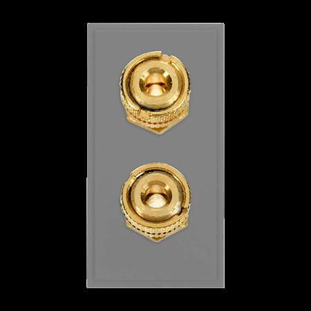 Click New Media Twin Loudspeaker Module Grey | MM495GY