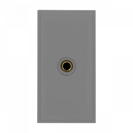 Click New Media 3.5MM Audio Outlet Module Grey | MM496GY