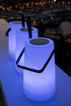 Be Happy Nomada Play RGB Bluetooth Speaker Lamp | LUMNM032PLNW