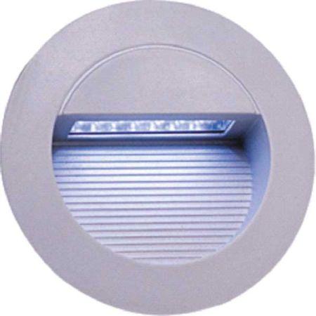 Knightsbridge IP44 Round Matt Grey LED Guide/Wall Light NH017W