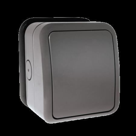 Click AQUIP66 1G 2 Way Weatherproof IP66 Outdoor Switch | OA411AGU