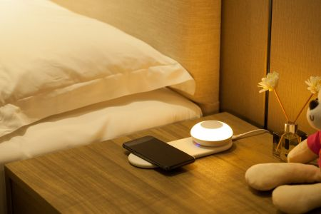 Link2Home Wireless Charging Station & Portable Light | P9WIRELESS