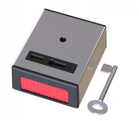CQR Single Push Panic Button Stainless Steel | PASP1/SS