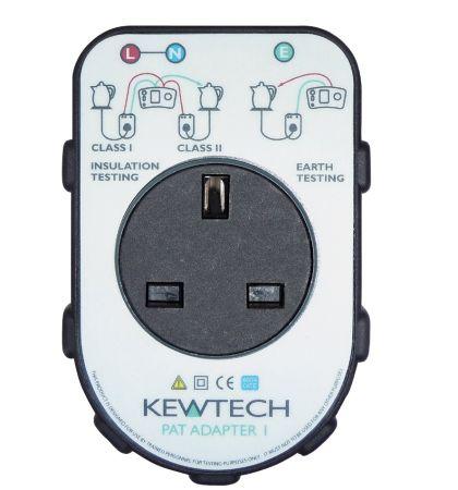Kewtech Portable Appliance Adaptor Box PATADAPTER1