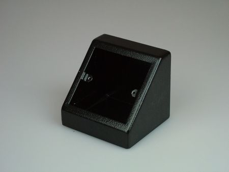 Tass Single Pedestal Box Black PB001B