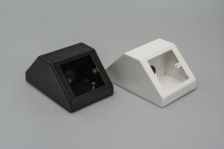 Tass Back to Back Single Pedestal Box White PB005W