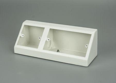 Tass Single & Double Pedestal Box White PB2010W