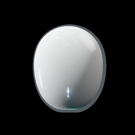 Velair Pebble Plug & Play Hand Dryer White | EHDPPW001