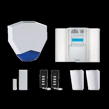 Visonic PowerMaster GT64 Wireless Alarm System with HEX Bell | PMGT64HEXKIT