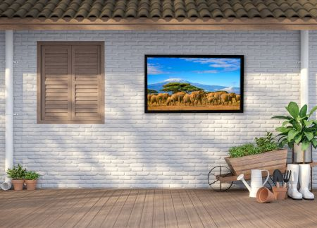 """ProofVision Lifestyle Plus 43"""" Outdoor Smart TV & RS232 Connection 