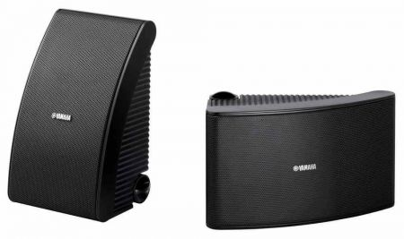 Yamaha NS-AW592 Outdoor All-Weather Speakers Pair Black | PV-NSAW392-BLACK