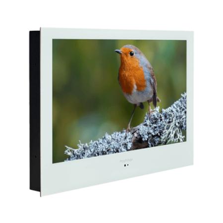 "ProofVision 24"" Premium Widescreen Waterproof Bathroom Smart TV White | PV24WF-A"