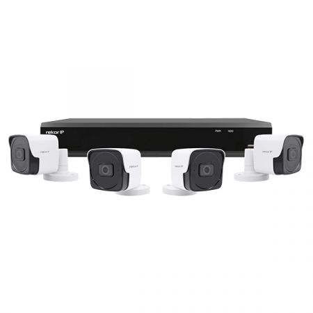 ESP Rekor IP 4 Channel 1TB 2MP 1080p 4 x Bullet Camera CCTV Kit | REKIP4KB4W