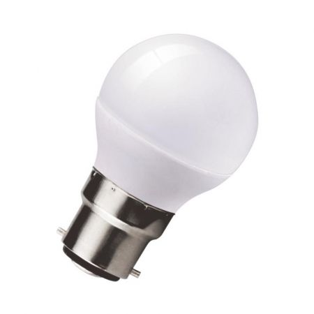 Kosnic Reon 5w Dimmable LED Frosted Golf Ball Lamp BC/B22 Warm White RDGLF05B22-27-N