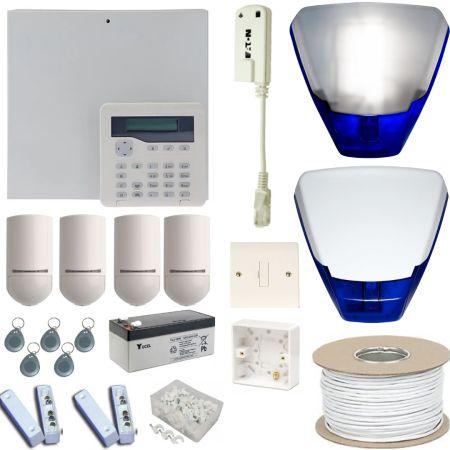 Scantronic i-onG2SM Hard Wired WiFi Burglar Alarm System | KIT8