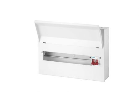Live Electrical 14 Way Metal Clad Consumer Unit 100A Main Switch | LHMC14/100