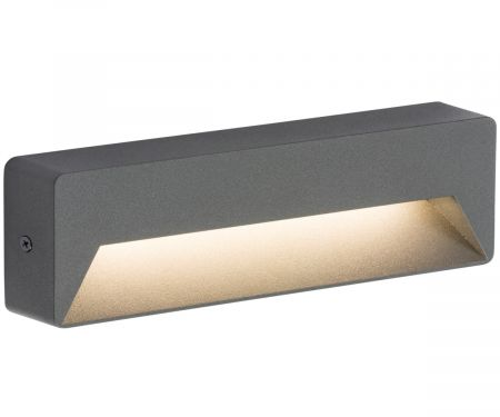 Knightsbridge RWL5A IP54 5w LED Wall/Guide Light Anthracite