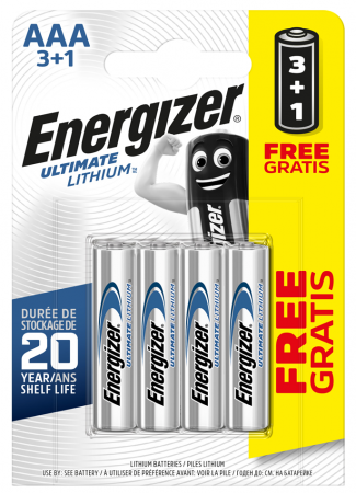 Energizer Ultimate Lithium AA Batteries for Texecom GBV-0001 Wireless Bell Box   S5716