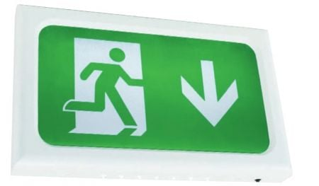 Ansell AENLED/3M/W Encore 2.6w LED Exit Sign