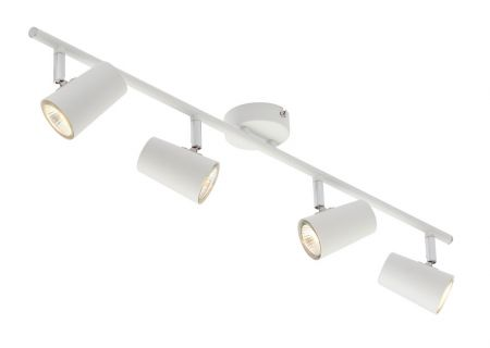 Inlight Harvey 4 Light GU10 Spotlight Bar White