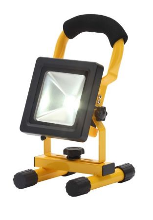 Zinc Rechargeable 10w LED Adjustable Work Light