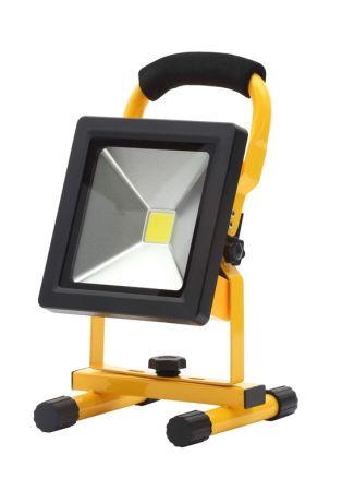 Zinc Rechargeable Portable 20w LED Adjustable Work Light