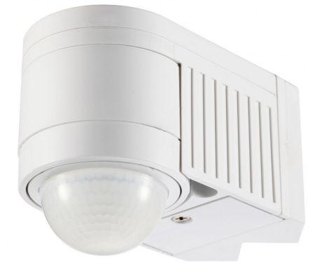 Zinc Alia Corner Mounted Motion Sensor White | ZN-25152-WHT