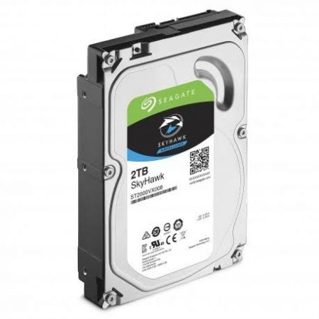 Seagate SkyHawk Surveillance 2TB Hard Drive for DVR and NVR CCTV Systems