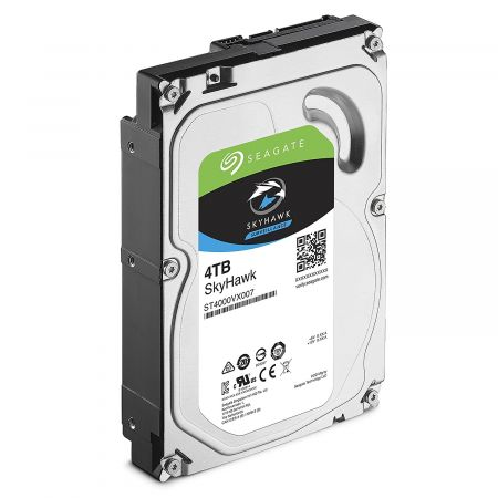 Seagate SkyHawk Surveillance 4TB Hard Drive for DVR and NVR CCTV Systems