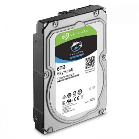 Seagate SkyHawk Surveillance 6TB Hard Drive for DVR and NVR CCTV Systems