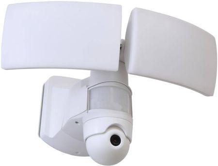Lutec Libra 38W LED Floodlight with Wi-Fi HD Camera White