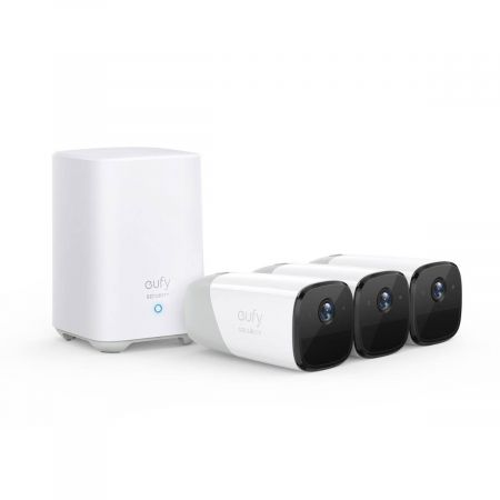 EufyCam2 Wireless Home Security 3 Camera System | T88423D2
