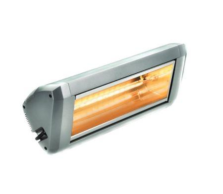 ATC Sienna 2Kw Outdoor Quartz Infra-Red Electric Heater Silver   SIE2.2KW-SL
