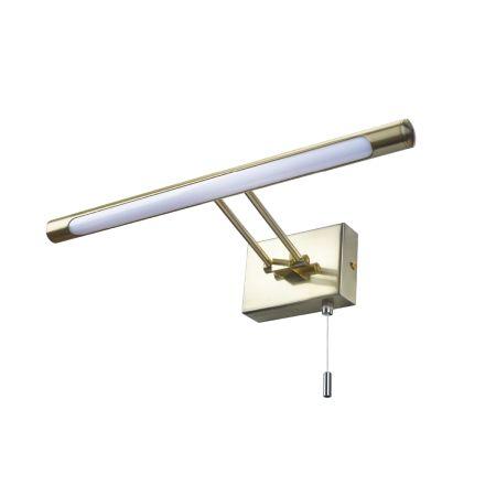 Spa Chai Bathroom LED Picture/Mirror Light Satin Brass | SPA-30993-SBRS