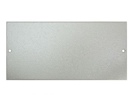 Tass STO283 FloorBox Blank Plate 185 x 89mm