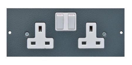Tass STO300 Twin Switched Sockets STO300