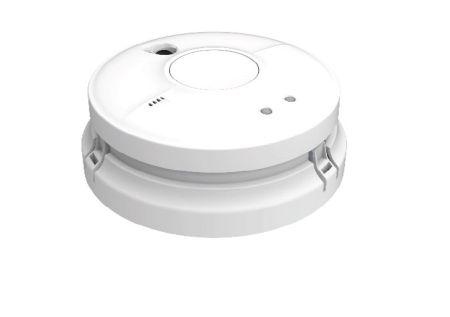 FireAngel Mains Powered Optical Smoke Alarm & Push Fit Base