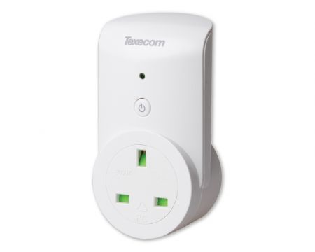 Texecom Connect SmartPlug Ricochet Wireless Plug Adapter GFA-0001