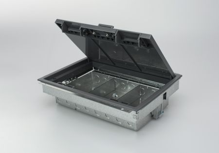 Tass TFB3/76 3 Compartment Floor Box