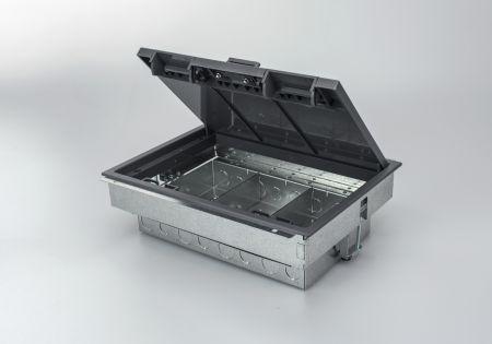 Tass TFB3/90 3 Compartment Floor Box