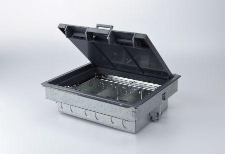 Tass TFB3S 3 Compartment Compact Floor Box