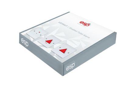 ESP Disabled Persons Toilet Alarm Kit UDTAKIT