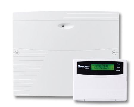 Texecom Veritas Excel Burglar Alarm Panel & LCD RKP CFE-0001