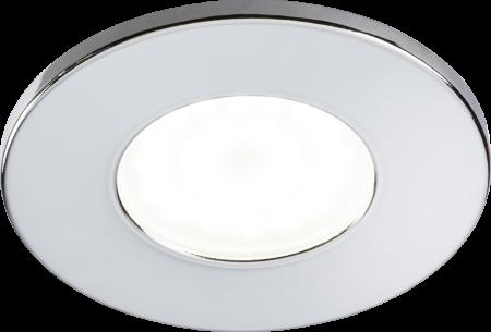Knightsbridge Fixed GU10 Fire-Rated Downlight Chrome | VFCFC