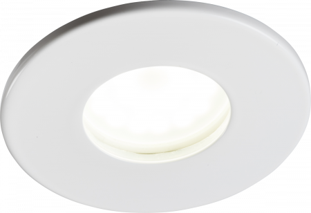 Knightsbridge IP65 GU10 Fire-Rated Downlight White | VFCFIPW