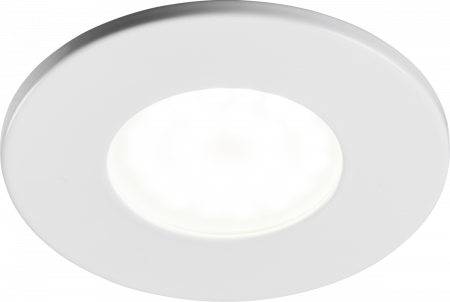 Knightsbridge Fixed GU10 Fire-Rated Downlight White   VFCFW
