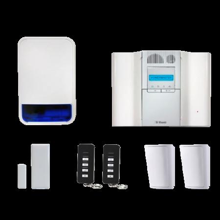 Visonic PowerMaster GT64 Wireless Alarm System | PMGT64BELLKIT